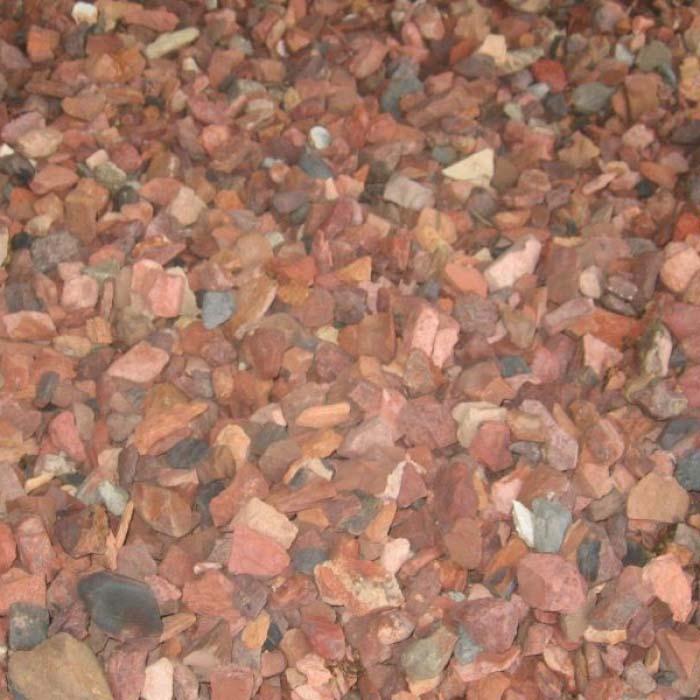 Rode Mijnsteen | Huenestein Zand- en Grindhandel